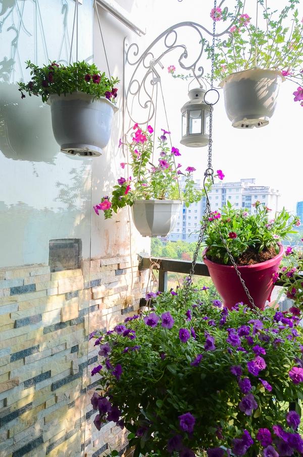 Ngắm căn hộ có góc vườn truyền cảm hứng cho cả khu chung cư ở Hà Nội 8