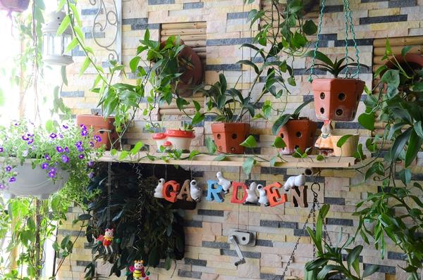 Ngắm căn hộ có góc vườn truyền cảm hứng cho cả khu chung cư ở Hà Nội 9