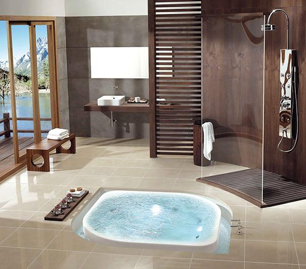 Những thiết kế bồn tắm sục nhìn là mê 1