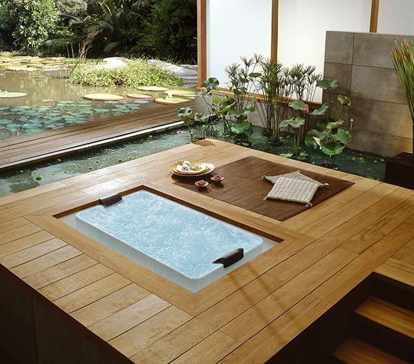 Những thiết kế bồn tắm sục nhìn là mê 2