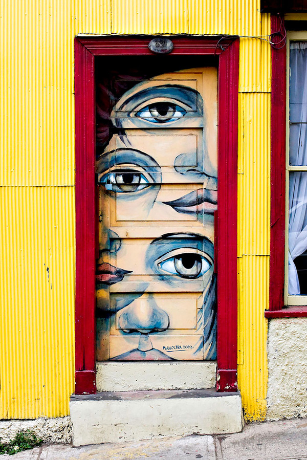 Những cánh cửa nhà ngập tràn màu sắc trên thế giới 6