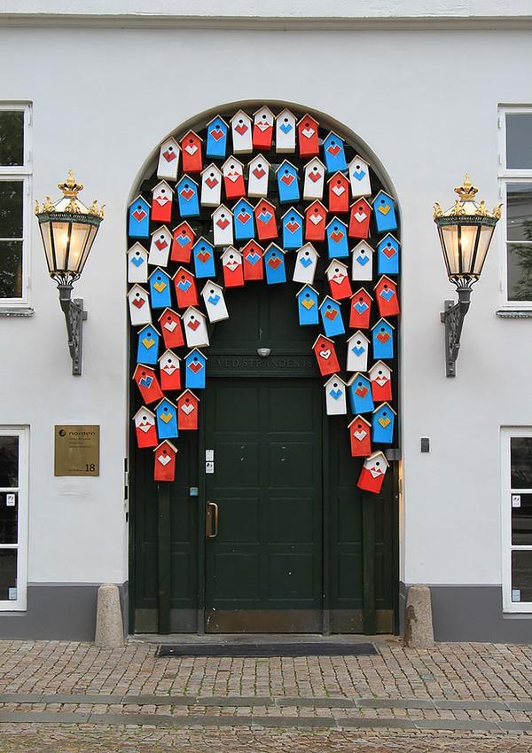 Những cánh cửa nhà ngập tràn màu sắc trên thế giới 3
