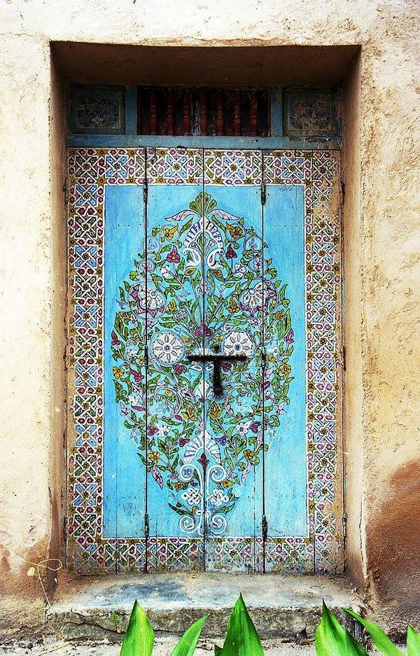 Những cánh cửa nhà ngập tràn màu sắc trên thế giới 5