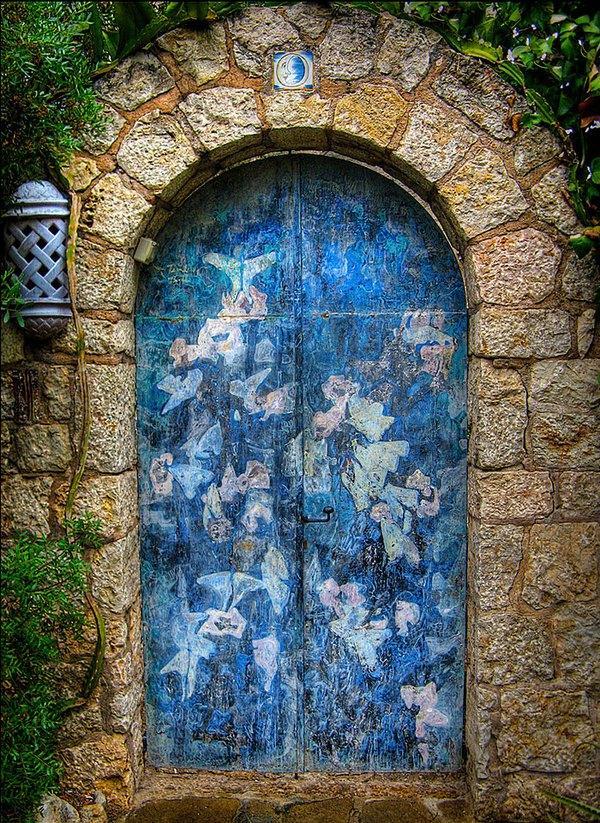 Những cánh cửa nhà ngập tràn màu sắc trên thế giới 10
