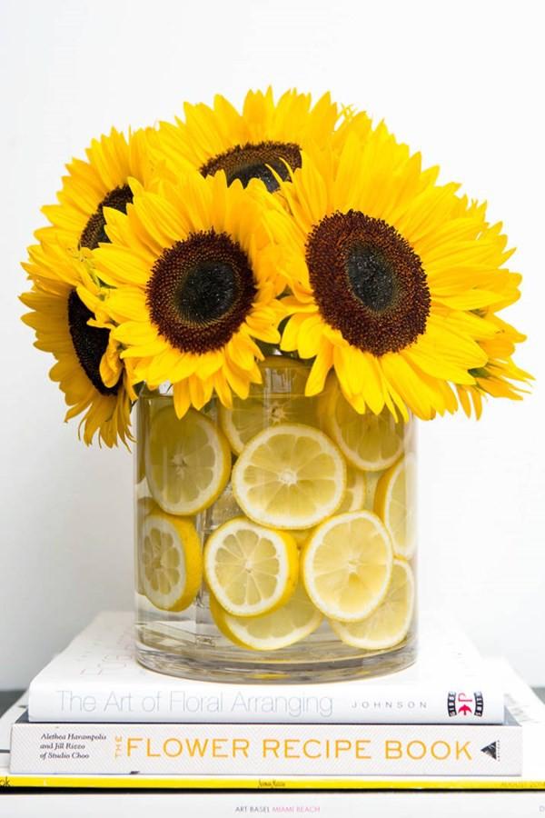 Cách trang trí và giữ hoa tươi lâu 7