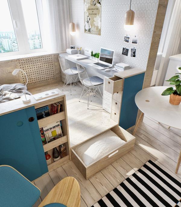 Hai mẫu căn hộ nhỏ đáng khao khát cho vợ chồng trẻ 8