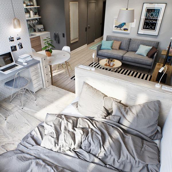 Hai mẫu căn hộ nhỏ đáng khao khát cho vợ chồng trẻ 4