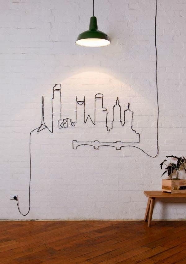 """15 ý tưởng """"phù phép"""" dây điện thành tác phẩm nghệ thuật độc đáo 10"""