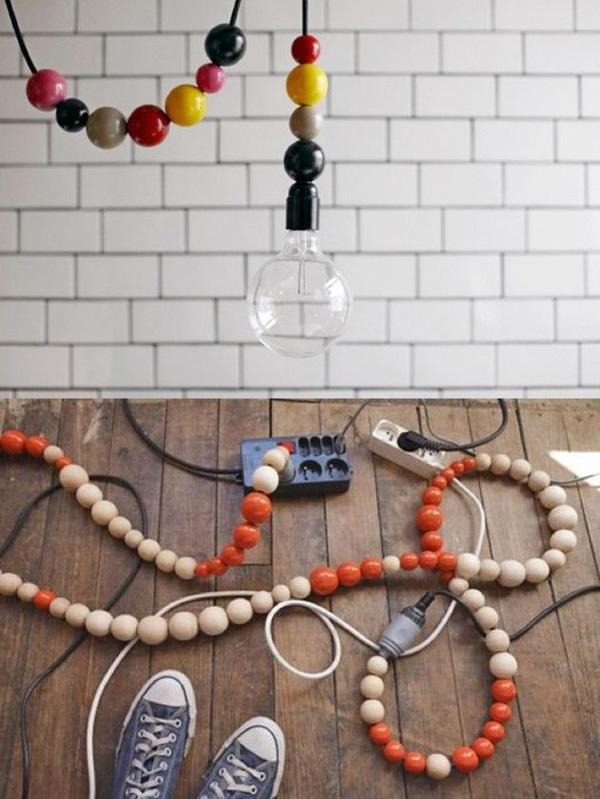 """15 ý tưởng """"phù phép"""" dây điện thành tác phẩm nghệ thuật độc đáo 12"""