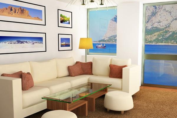 14 ý tưởng thiết kế và trang trí cho phòng khách nhỏ  11