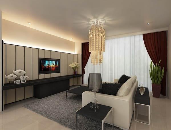 14 ý tưởng thiết kế và trang trí cho phòng khách nhỏ  3