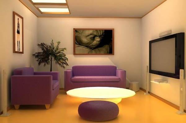 14 ý tưởng thiết kế và trang trí cho phòng khách nhỏ  4