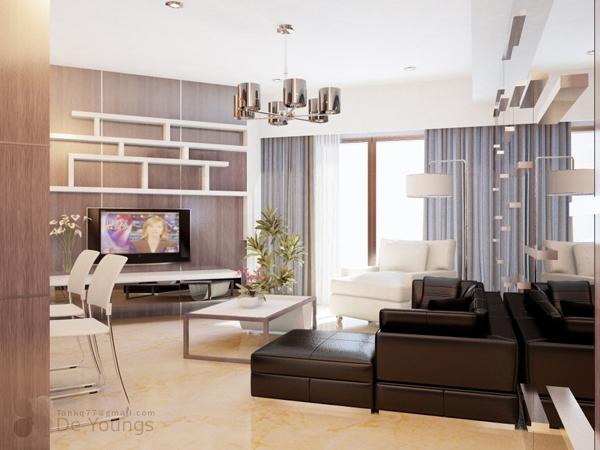 14 ý tưởng thiết kế và trang trí cho phòng khách nhỏ  7
