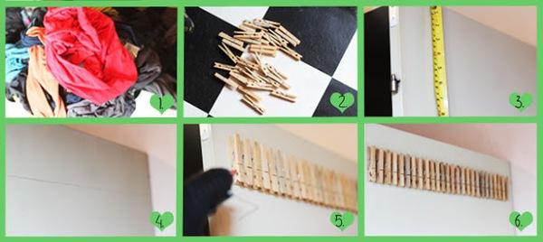 5 ý tưởng lưu trữ quần áo thông minh  9