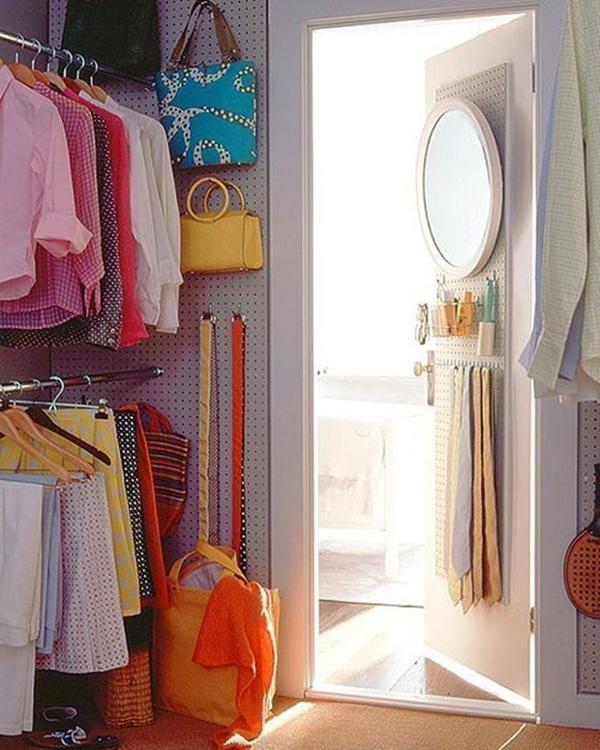 5 ý tưởng lưu trữ quần áo thông minh  7