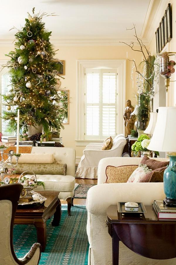 Ngắm ngôi nhà trang trí Noel ấn tượng đến từng chi tiết 2