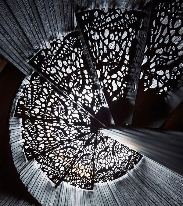 """""""Mãn nhãn"""" với những mẫu cầu thang siêu đẹp   10"""