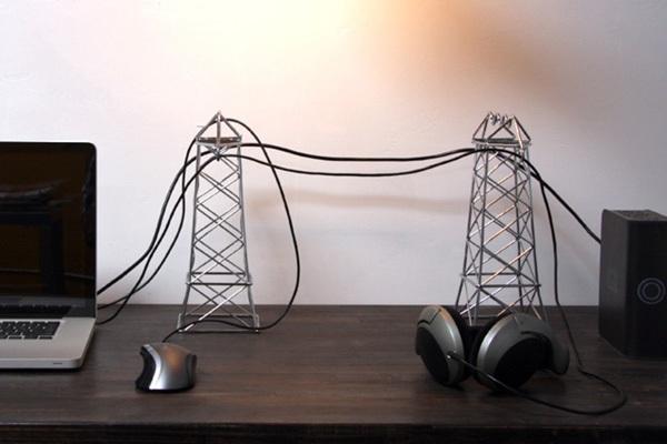 """15 ý tưởng """"phù phép"""" dây điện thành tác phẩm nghệ thuật độc đáo 17"""