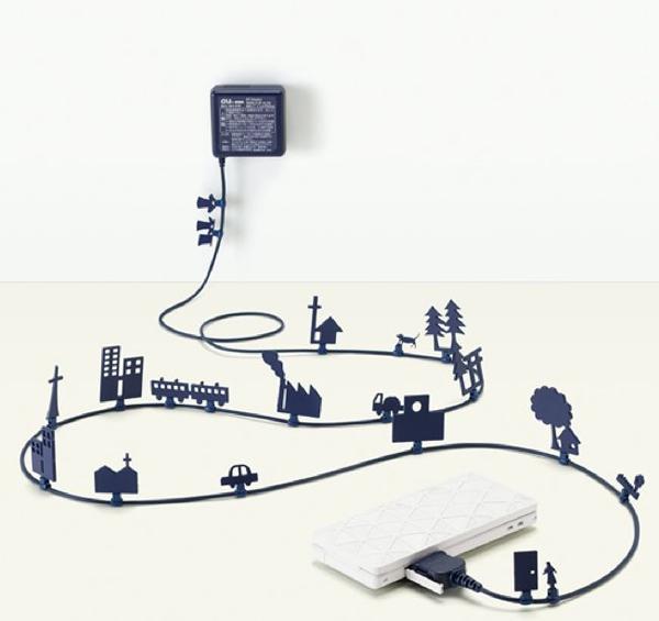 """15 ý tưởng """"phù phép"""" dây điện thành tác phẩm nghệ thuật độc đáo 2"""