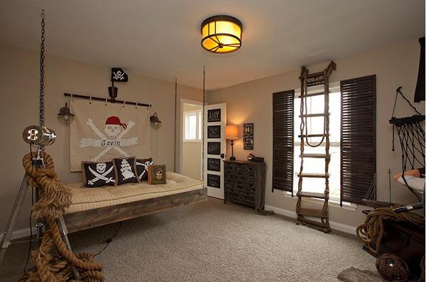 Ý tưởng trang trí phòng ngủ bé trai cực đẹp 13