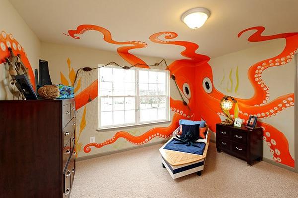 Ý tưởng trang trí phòng ngủ bé trai cực đẹp 14