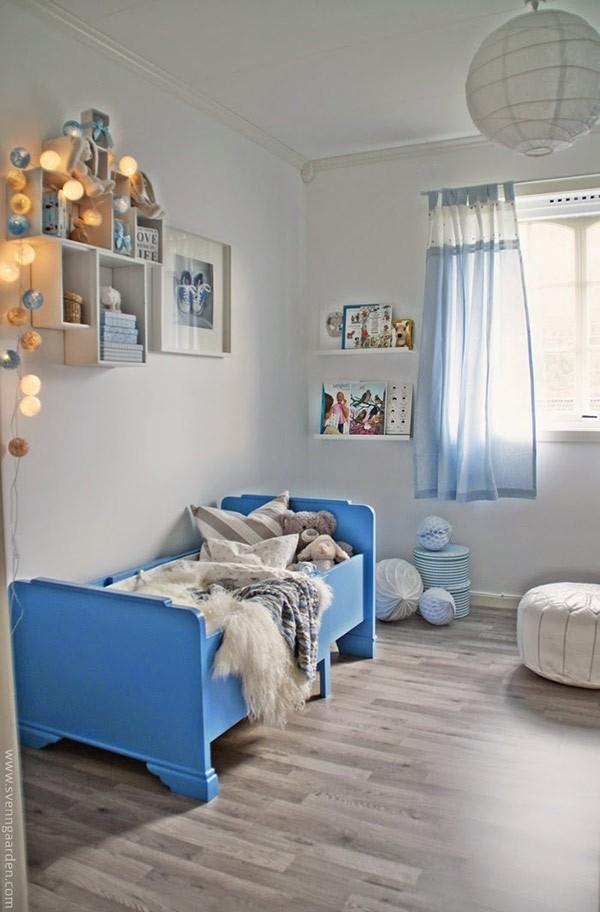 Ý tưởng trang trí phòng ngủ bé trai cực đẹp 15