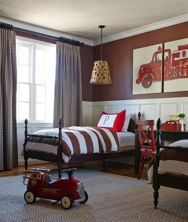 Ý tưởng trang trí phòng ngủ bé trai cực đẹp 3