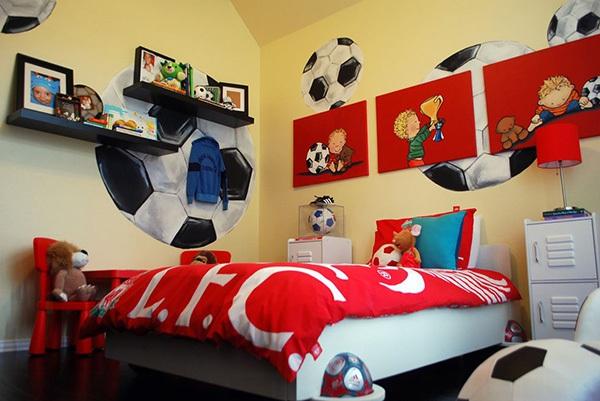 Ý tưởng trang trí phòng ngủ bé trai cực đẹp 6