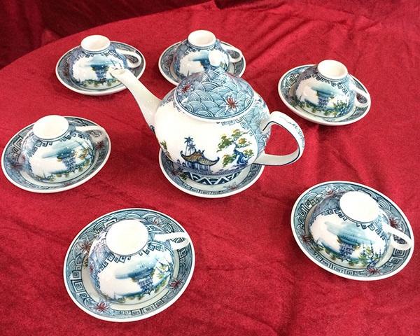Chọn mua bộ ấm chén uống trà siêu đẹp đón Tết  10