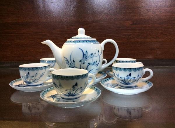 Chọn mua bộ ấm chén uống trà siêu đẹp đón Tết  13