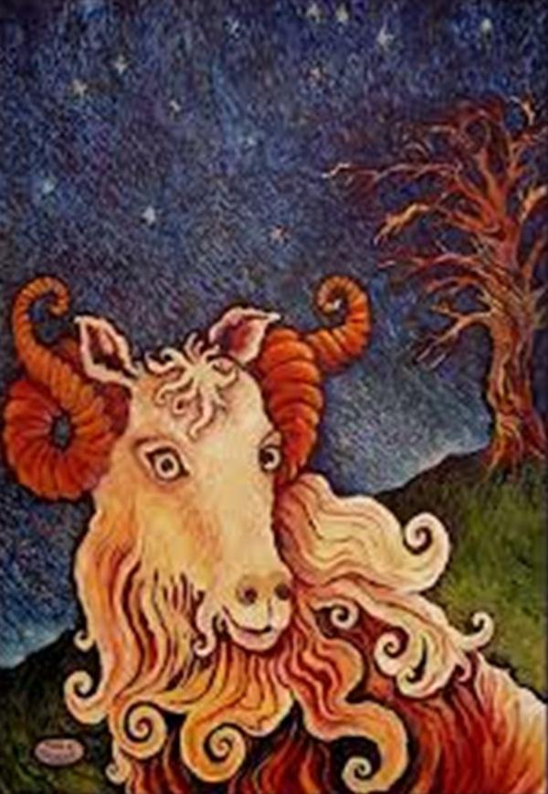 Mẹo bài trí biểu tượng dê trong trang trí nhà hút vận may Tết Ất Mùi 7