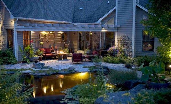 Những thiết kế hồ nước nhỏ xinh cho sân vườn 10