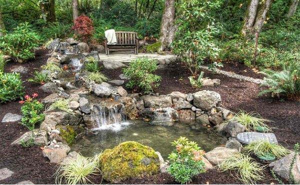 Những thiết kế hồ nước nhỏ xinh cho sân vườn 4