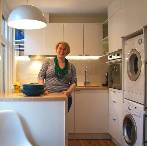 Mẹo bài trí thông minh cho những căn bếp nhỏ dưới 5m² 1