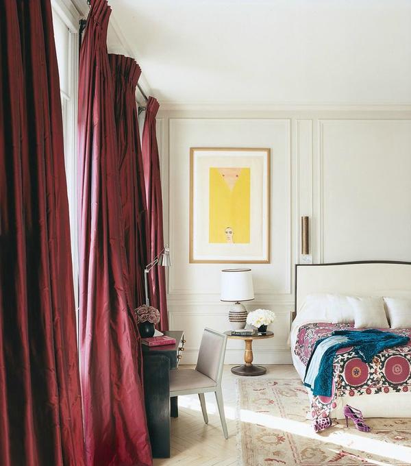 Trang trí nhà đầy đam mê trong sắc đỏ rượu chát Marsala 12