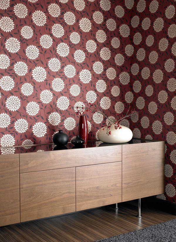 Trang trí nhà đầy đam mê trong sắc đỏ rượu chát Marsala 14