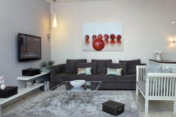 20 thiết kế kệ tivi treo tường cực đẹp 18