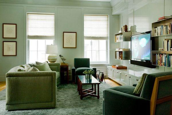 20 thiết kế kệ tivi treo tường cực đẹp 6