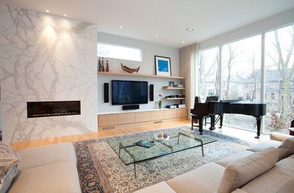 20 thiết kế kệ tivi treo tường cực đẹp 7