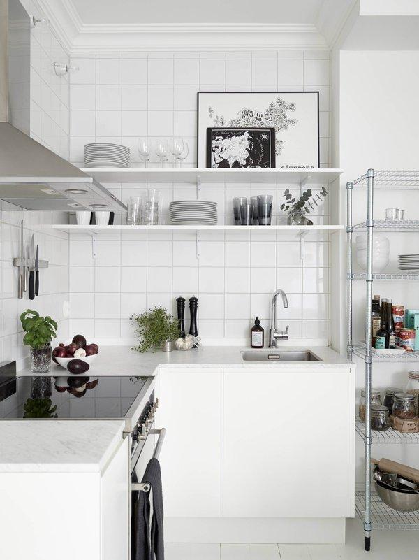 Image result for trang trí phòng bếp nhỏ