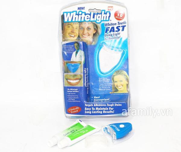 Máy làm trắng răng Whitening light không mang lại hiệu quả 2