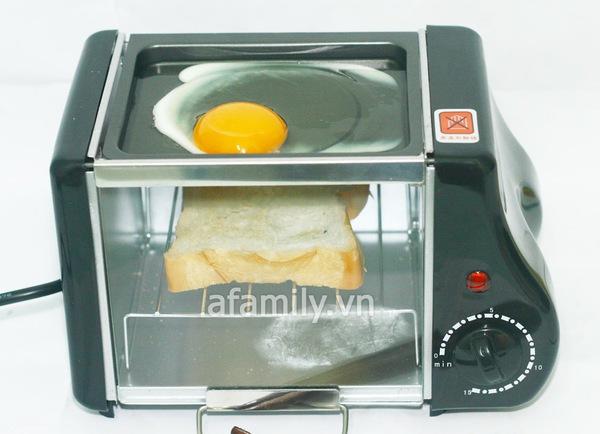 Lạ mắt lò nướng bánh mini 2 trong 1 11
