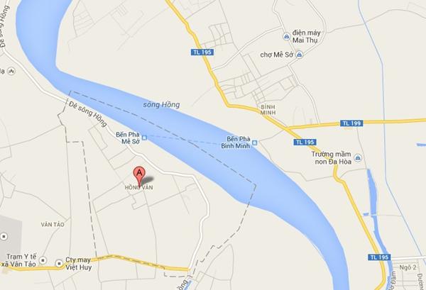 Huy động 6 chiếc thuyền tìm xác nạn nhân dọc theo sông Hồng 1