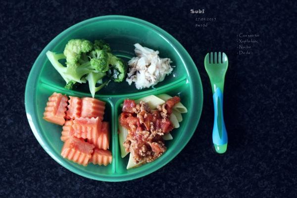 Mẹ Việt ở Úc chia sẻ những món ăn dặm làm cho con trai nhìn thôi đã thấy thèm