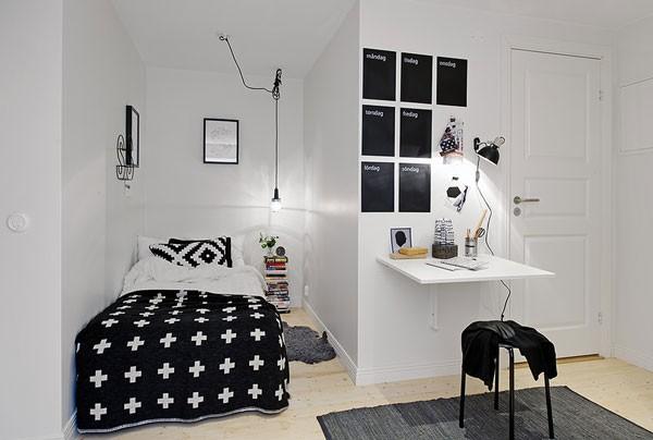 Gợi ý mẹo trang trí phòng ngủ nhỏ trở nên rộng rãi 1