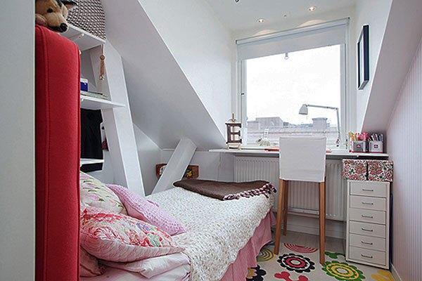 Gợi ý mẹo trang trí phòng ngủ nhỏ trở nên rộng rãi 9