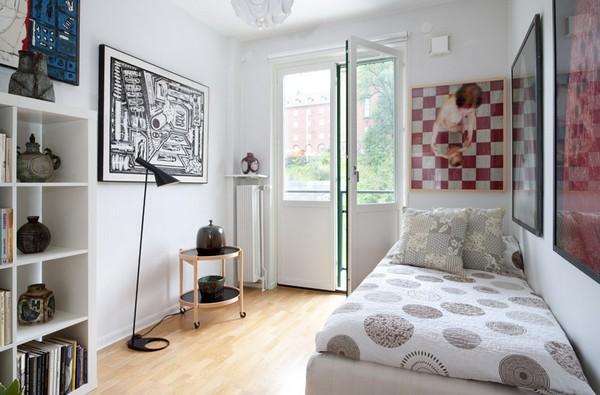 Gợi ý mẹo trang trí phòng ngủ nhỏ trở nên rộng rãi 8