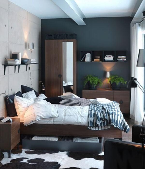 Gợi ý mẹo trang trí phòng ngủ nhỏ trở nên rộng rãi 2