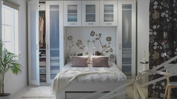 Gợi ý mẹo trang trí phòng ngủ nhỏ trở nên rộng rãi 12