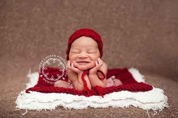 Ngất ngây với ảnh bé cười khi ngủ 11